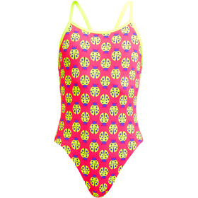 Funkita Single Strap Swimsuit Girls, lady birdie